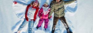 inheritance tax getting life insurance WMT photo of family making snow angels